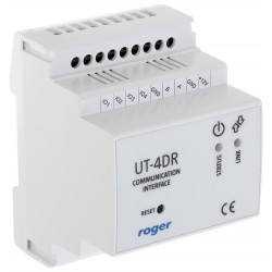 INTERFEJS KOMUNIKACYJNY UT-4DR LAN-RS485 ROGER