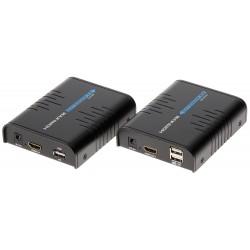 EXTENDER   HDMI+USB-EX-100