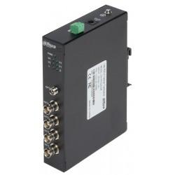 ŚWIATŁOWODOWY ODBIORNIK PFO2410R 4x HD-CVI + RS-485 DAHUA
