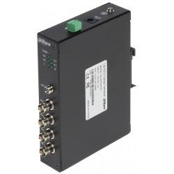ŚWIATŁOWODOWY NADAJNIK PFO2410T 4x HD-CVI + RS-485 DAHUA