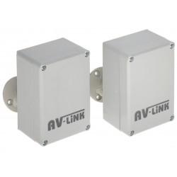 ZESTAW DO TRANSMISJI BEZPRZEWODOWEJ AHD-M 5.8 GHz AV-300AHD-MINI KOMPLET TXRX