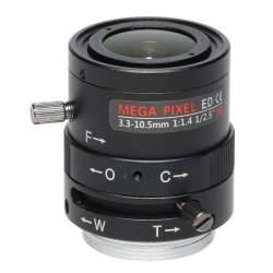 OBIEKTYW ZOOM IR MEGA-PIXEL 50CS25-3310/M 3.3... 10.5mm LENEX