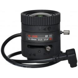 OBIEKTYW ZOOM IR MEGA-PIXEL 80CS18-3610/DC 4K UHD 3.6... 10mm DC LENEX