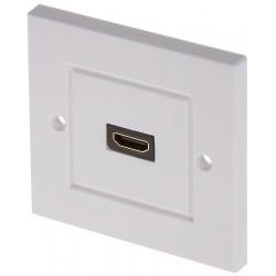 GNIAZDO HDMI-PD-G PANEL