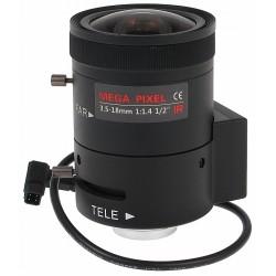 OBIEKTYW ZOOM IR MEGA-PIXEL 20C20-3518/DC 3.5... 18mm DC LENEX