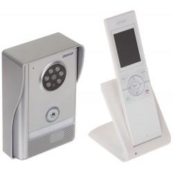 WIDEODOMOFON BEZPRZEWODOWY OR-VID-XE-1051/W ORNO
