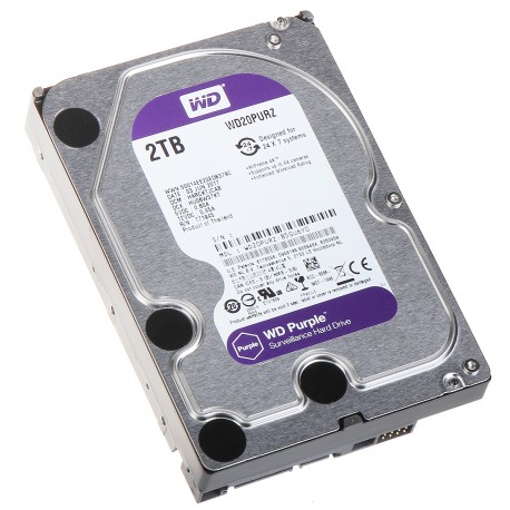 DYSK DO REJESTRATORA HDD-WD20PURZ 2TB 24/7 WESTERN DIGITAL